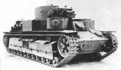 schwere russische Panzer T-28A