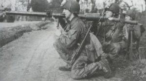 US-Fallschirmjäger bei Rhein-Überquerung