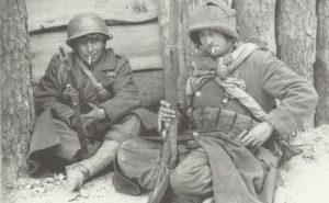 Tunesische Truppen der französischen 1. Armee