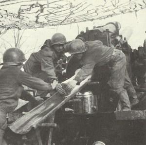 US-Artillerie am Rhein