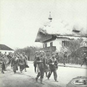 Rotarmisten in Niederösterreich