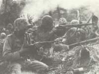 US-Marineinfanteristen im Gefecht