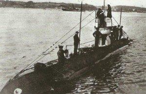 Minenleger-U-Boot UC 1,