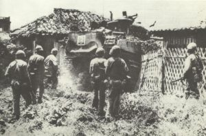 US-Marines vor Naha, Okinawa