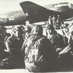 Japanische Kamikaze-Piloten warten auf ihren Einsatz