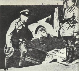 General Weidling kapituliert in Berlin