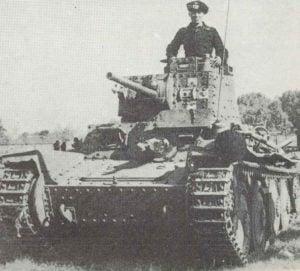Panzer 38 (t) Ausf A von vorne.
