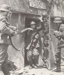 Kapitulation Bunker Maginot-Linie
