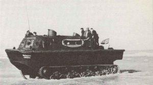 Amphibisches Schleppfahrzeug LWS