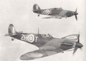 Spitfire und Hurricane
