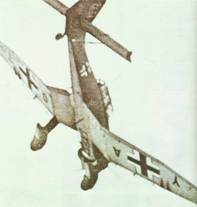 Sturzangriff eines Stuka