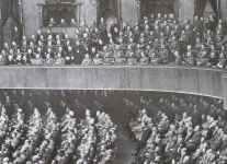 Saal der Krolloper während der Reichstagssitzung vom 19. Juli
