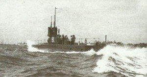 britische U-Boot E1