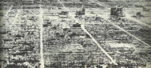 Hiroshima nach Atombombe