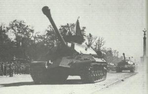 schwere russische Panzer vom Typ JS 3