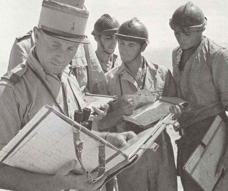 frei-französischer Hauptmann der 1. marokkanischen Spahis