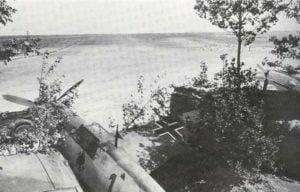 Bf 109E Jagdflugzeuge der III. Gruppe des Jagdgeschwader 26
