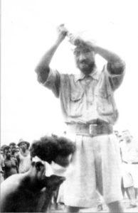 Exekution eines alliierten Soldaten