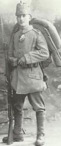 Schütze eines Jäger-Battalions