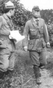 Leutnant der japanischen Marineinfanterie