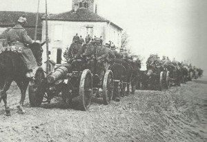 Deutsche 150-mm-Haubitzen