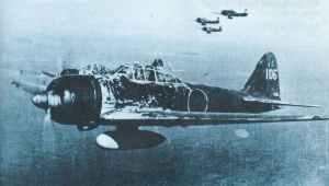 Formation von A6M2 Zeros mit Zusatztanks