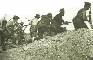 australischer Sturmangriff Gallipoli