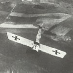 Fokker im Sturzflug