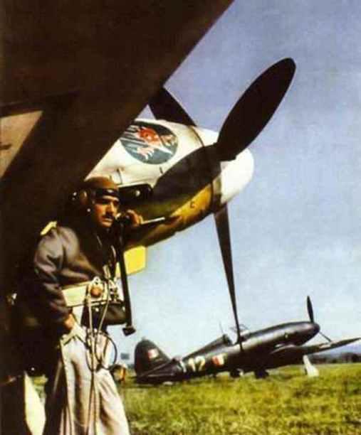 Fiat G.55 Centauro Jagdflugzeuge