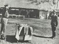 Kapitulation eines japanischen Truppen-Führers