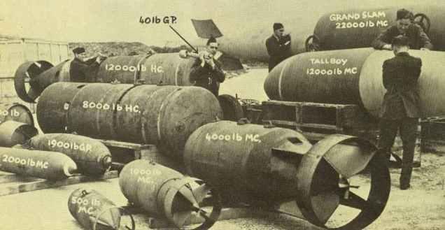 Bomben der RAF