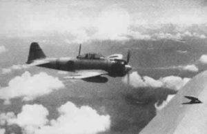 Mitsubishi A6M2 Zero der 14. Luftgruppe über Südchina