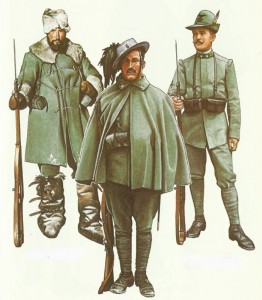 Italienische Soldaten