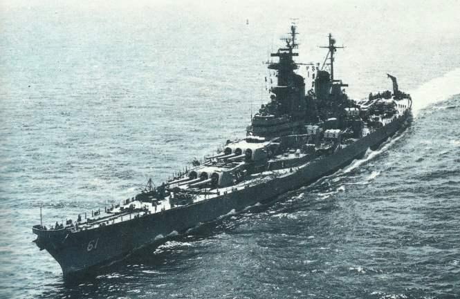 USS Iowa 1954