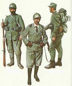Italienische Infanterie