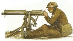 Unteroffizier des britischen Maschinengewehr-Korps
