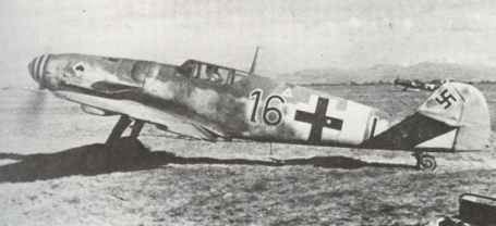 Bf 109 G vom JG 53 i