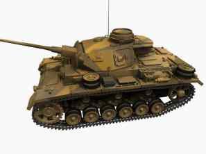 3D-Modell Panzerkampfwagen III Ausf. L