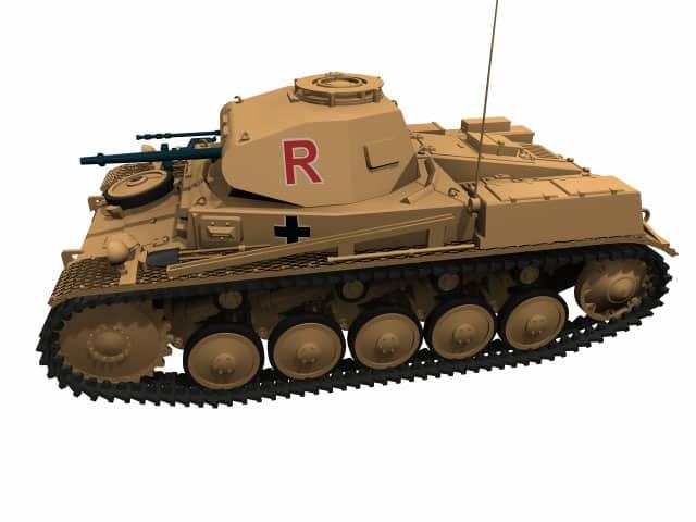 3d Modell PzKpfw II