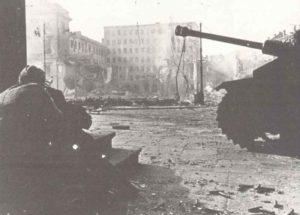 SS-Bild vom Warschauer Aufstand