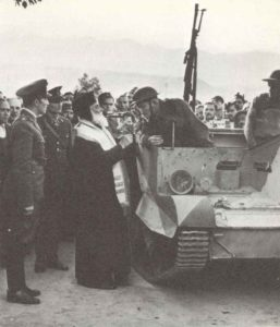 Britische Truppen auf Kreta