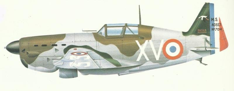 Morane-Saulnier MS 406