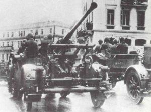 Griechische Flak-Artillerie
