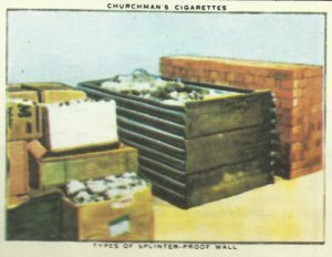 Zigarettenbilder Luftschutz