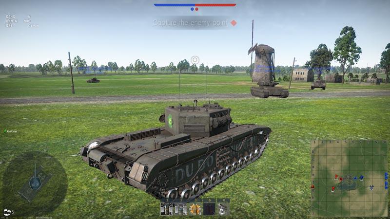 Britische Panzer