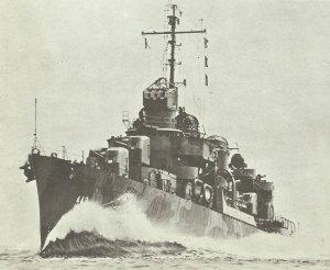 Zerstörer 'Nicholas' (DD-449) der Fletcher-Klasse