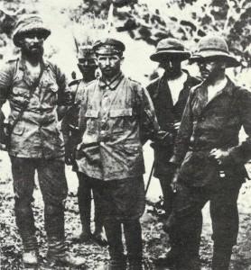 deutsche Kriegsgefangene in Ostafrika