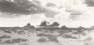Matilda-Panzer greifen Sidi Barrani an