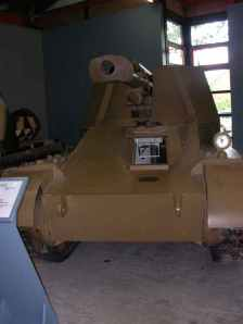 Wespe im Panzermuseum Munster