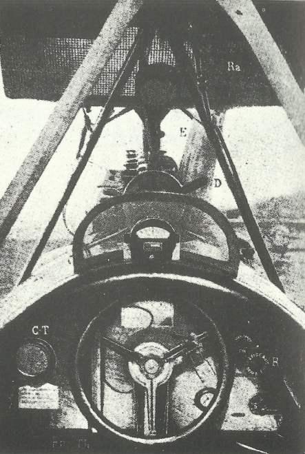 Cockpit Albatros C III